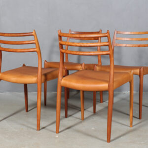 Arne Jacobsen. Myren spisestole, model 3101 (6) Another